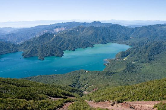Lake Chuzenji seen from Mt.Nantai, (September 2013), by Σ64