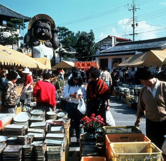 Mashiko Pottery Market © JNTO