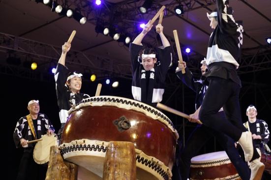 Taiko at Earth Celebration 2014