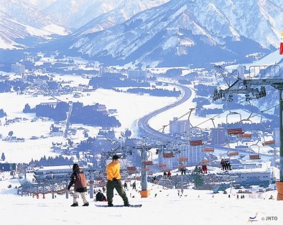 Skiing in Yuzawa © JNTO