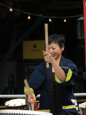 Taiko West at Festival Asia