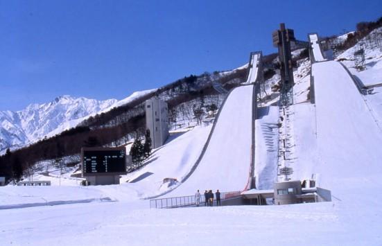 Hakuba Ski Jumping Stadium ©Tourism Commission of Hakuba Village/©JNTO