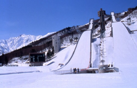 Hakuba Ski Jumping Stadium ©Tourism Commission of Hakuba Village/©JNTO