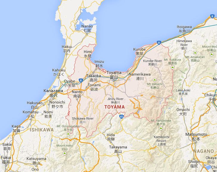 Toyama Japan  City new picture : Japan by Prefecture: Toyama 富山県