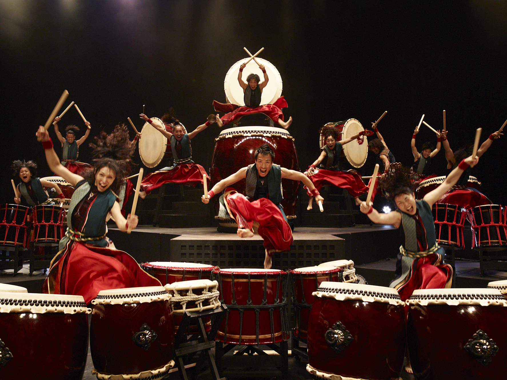 Japanese drummers photos 37
