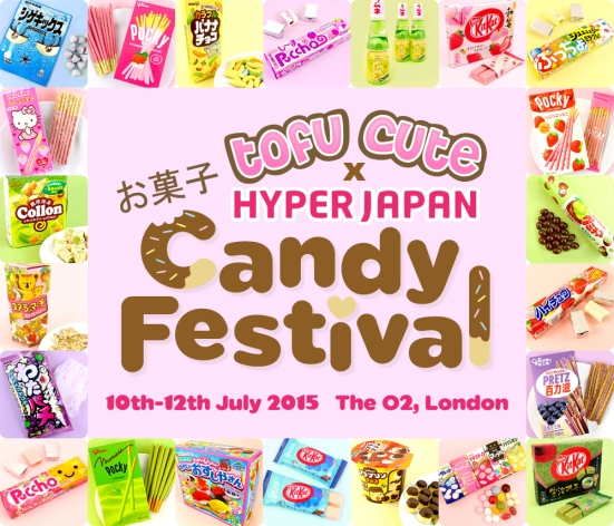 Tofu Cute x HYPER JAPAN Candy Festival