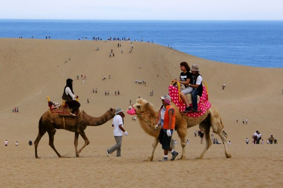 Tottori Sand Dunes ©Tottori Prefecture/©JNTO