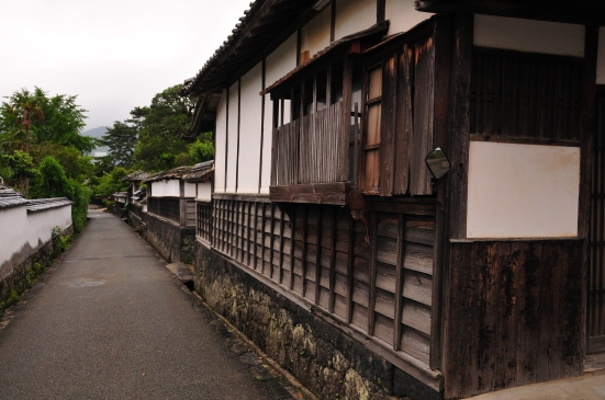 Horiuchi - the samurai district
