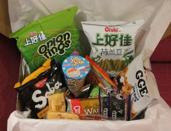 My Chimasu snack box