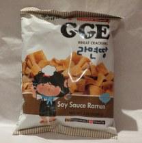 GGE Soy Sauce Ramen snack from Taiwan