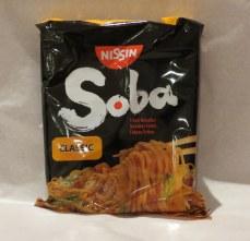 Nissin Soba noodles from Japan