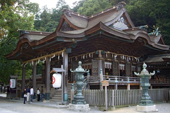 Kotohira Shrine or Kompirasan
