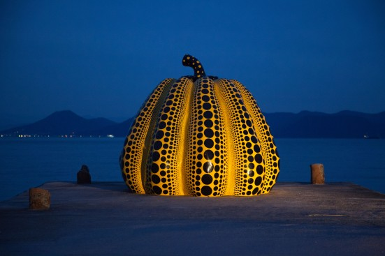 """""""Pumpkin"""" by Yayoi Kusama"""