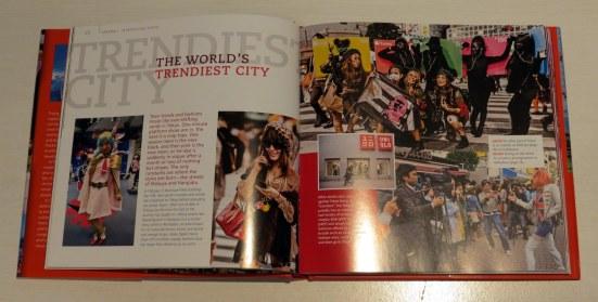 The world's trendiest city...