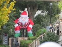 Pouncing Santa