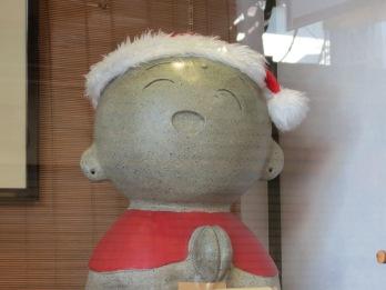 Christmas statue