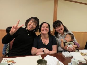 Kazue, Yukie & Akane's baby Ren