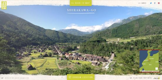 Random location #1 - Shirakawago