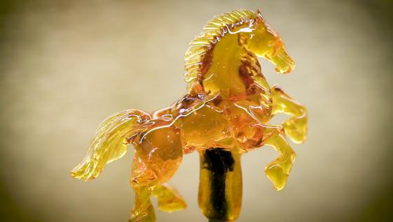 Amezaiku horse