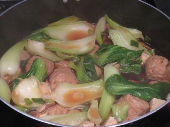 Veggie chanko nabe