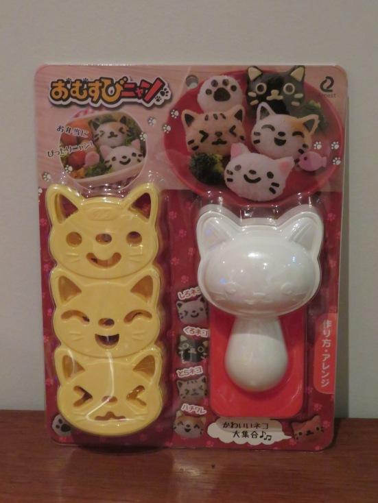 Cute cat rice shaper